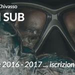 Iscrizioni ai Corsi di Subacquea – Stagione 2016 – 2017