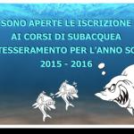 Tesseramento Anno Sociale 2015 – 2016