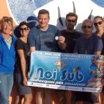 IL Moby Diving Center di Lampedusa premia Andrea (istruttore Noi Sub)