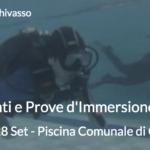 Mercoledì 28 Settembre: Allenamenti e Prove d'Immersione in Piscina