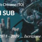 Iscrizioni aperte ai Corsi di Subacquea a Chivasso – stagione 2018 – 2019